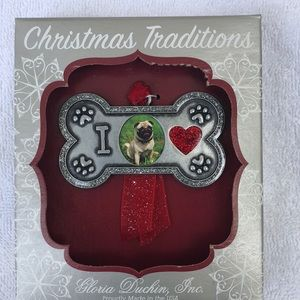 Christmas Traditions dog  picture frame or…